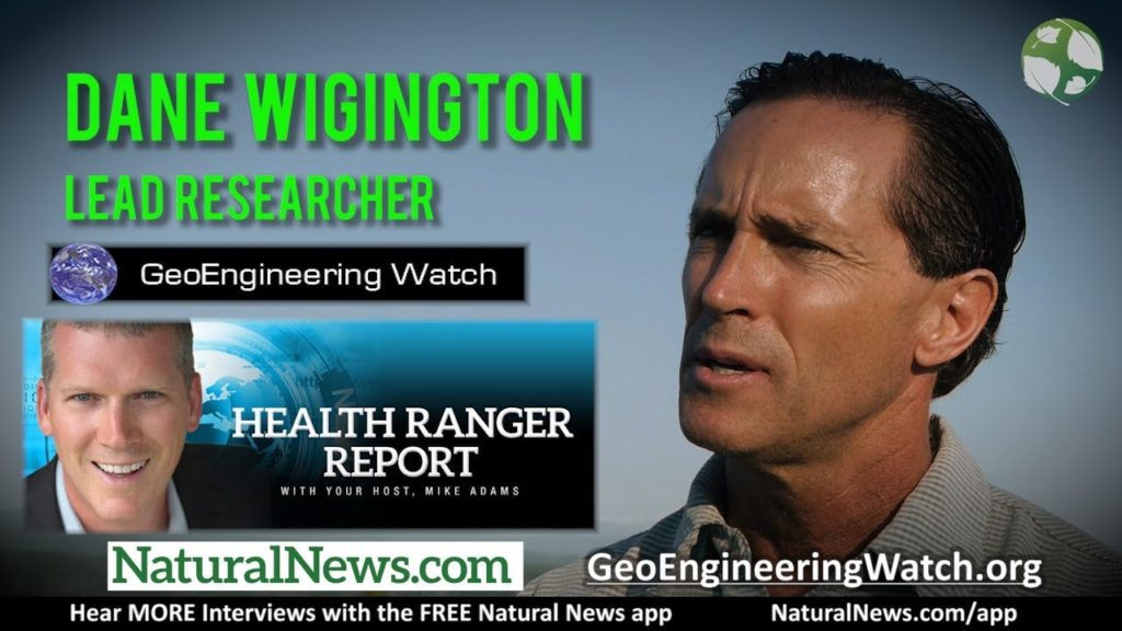 Dane Wigington exposes globalist geoengineering weather control agenda