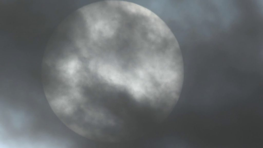 Sunspot,UFO/Orb Contaminated Clouds From Geoengineering