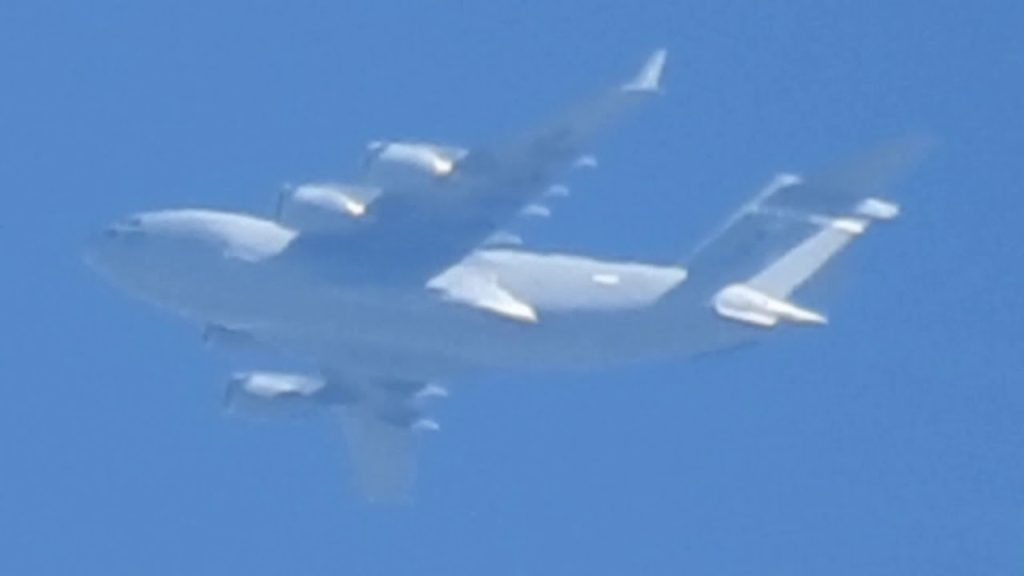 USAF Caught Dumping Chemicals 'Not On Radar' Geoengineering