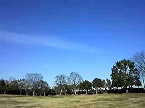 12.27青空のケムトレイル.3gp