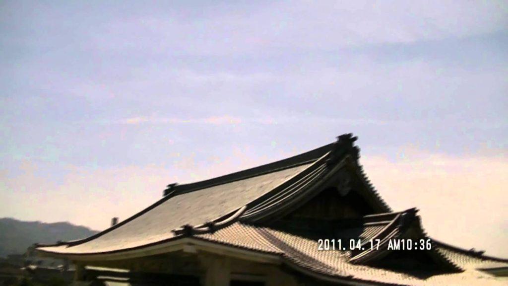japan osaka chemical trail (変化前) ケムトレイル?