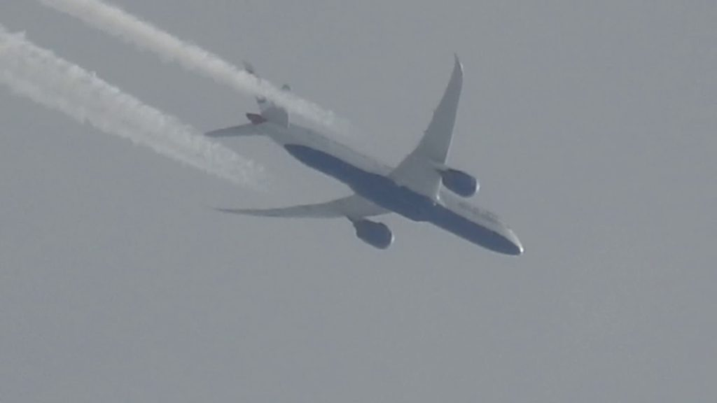 British Airways Dumping Dirty Toxic Chemicals For Geoengineering Programs
