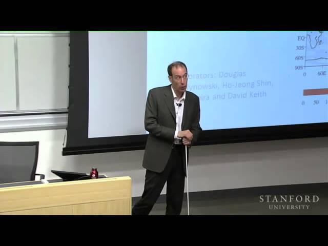 David Keith Presents Solar Geoengineering Lecture at Stanford U.
