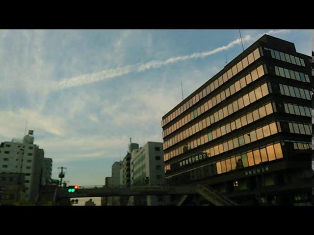 Chemtrail japan ケムトレイル2017年12月23日 東京都文京区
