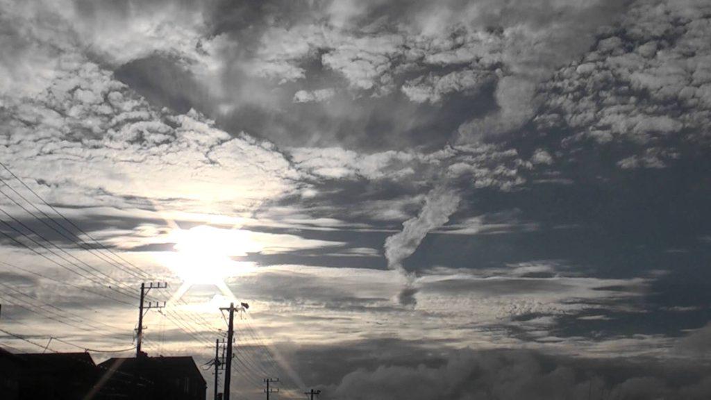竜巻雲風ケムトレイル Chemtrail