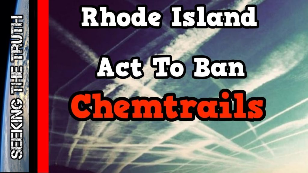Rhode Island Geoengineering Act To Ban Chemtrails
