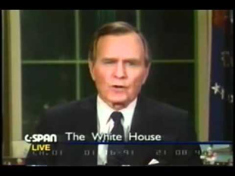 ジョージH.W.ブッシュ大統領 新世界秩序1 #new_world_order #george_h_w_bush