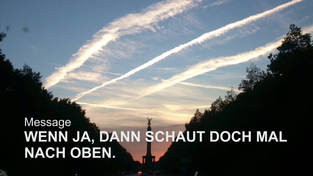 Geo Engineering Dokumentation – Berlin 2015 ( Chemtrails – Germany )