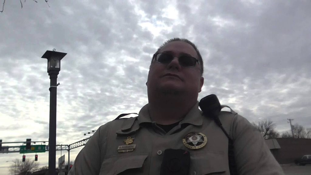 Armed Geoengineering Activist Confronted By Washakie County Sheriffs Department! 3/11/16