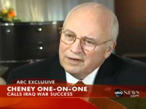 ディック・チェイニー副大統領 それで? #iraq
