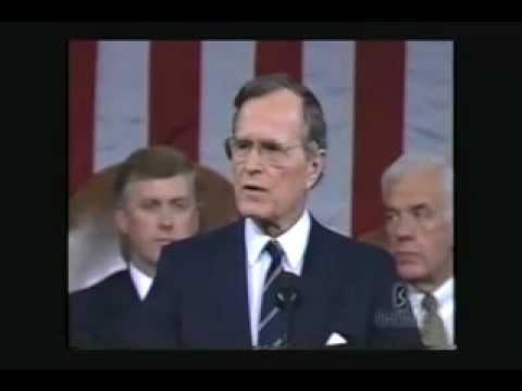 ジョージH.W.ブッシュ大統領 新世界秩序2 #new_world_order #george_h_w_bush