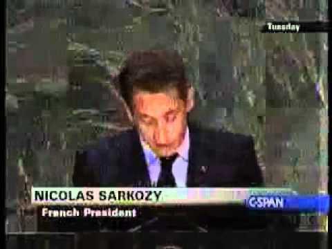 新世界秩序 ニコラス・サルコジ フランス大統領1 #nwo #nicolas_sarkozy