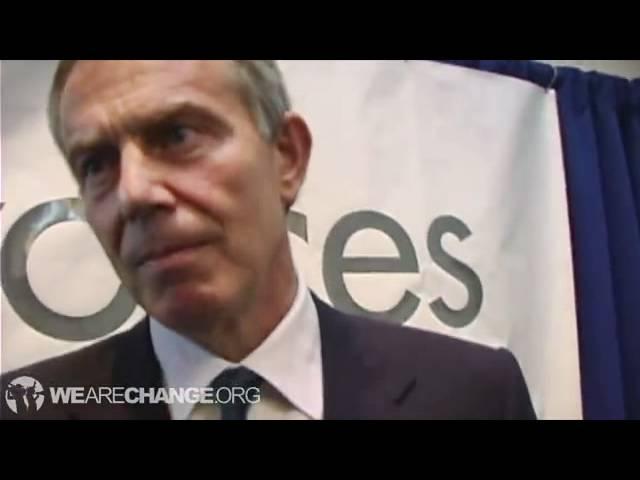 トニー・ブレア元英国首相と対決 ビルダーバーグ #tony_blair #bilderberg