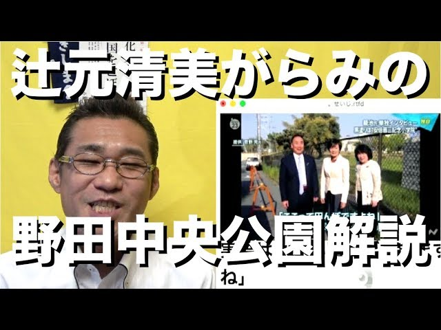 野田中央公園の闇/関西生コン強制捜査、全マスゴミがスルー(知ってた)