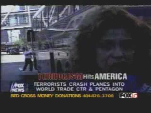"""""""911 一機目突入の目撃者「小型のジェット機だった」 Eyewitness's account"""""""