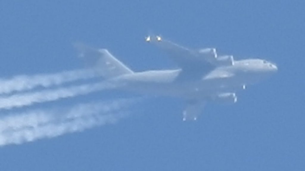USAF Caught Spraying Chemicals-Biological's Over Wyoming For Solar Geoengineering Programs