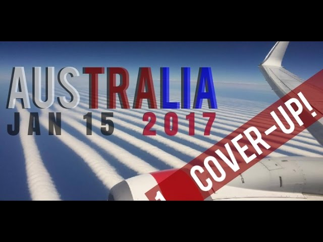 ALERT! AUSTRALIA COVERS UP CHEMTRAILS… BINGO!! Geoengineering Exposed