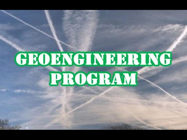 UK GEOENGINEERING PROGRAM EXPOSED WITH DOCUMENTED PROOF