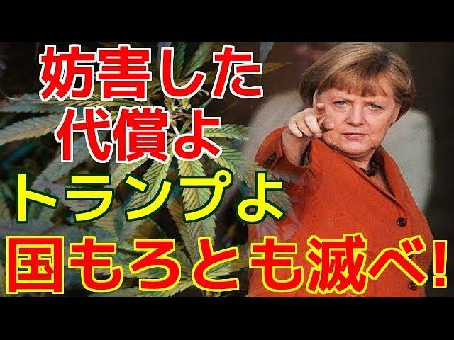 トランプに妨害を受けた悪魔崇拝者メルケル首相が大規模テロ攻撃を計画していることが判明し世界が震える!