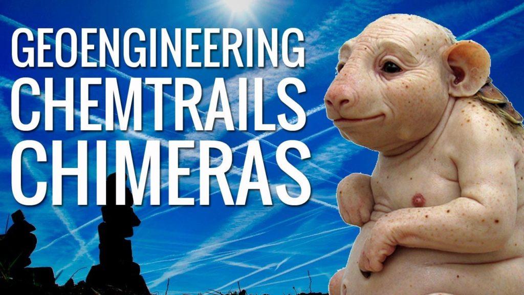 Geoengineering Morgellons, Chimeras, Chemtrail Death Spray
