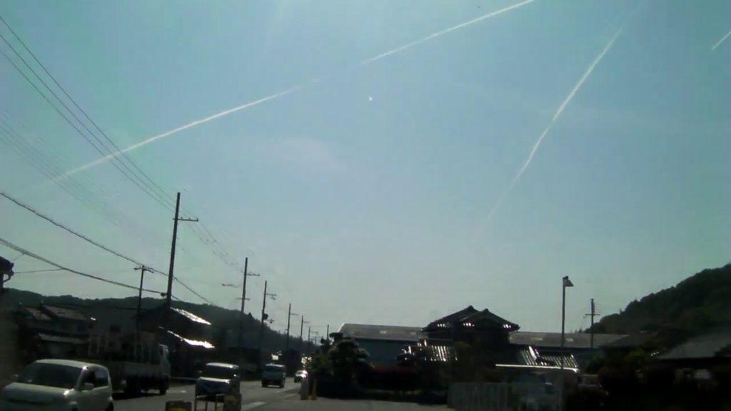 ケムトレイル3 chemtrails (Yokawa, Kobe, Japan)