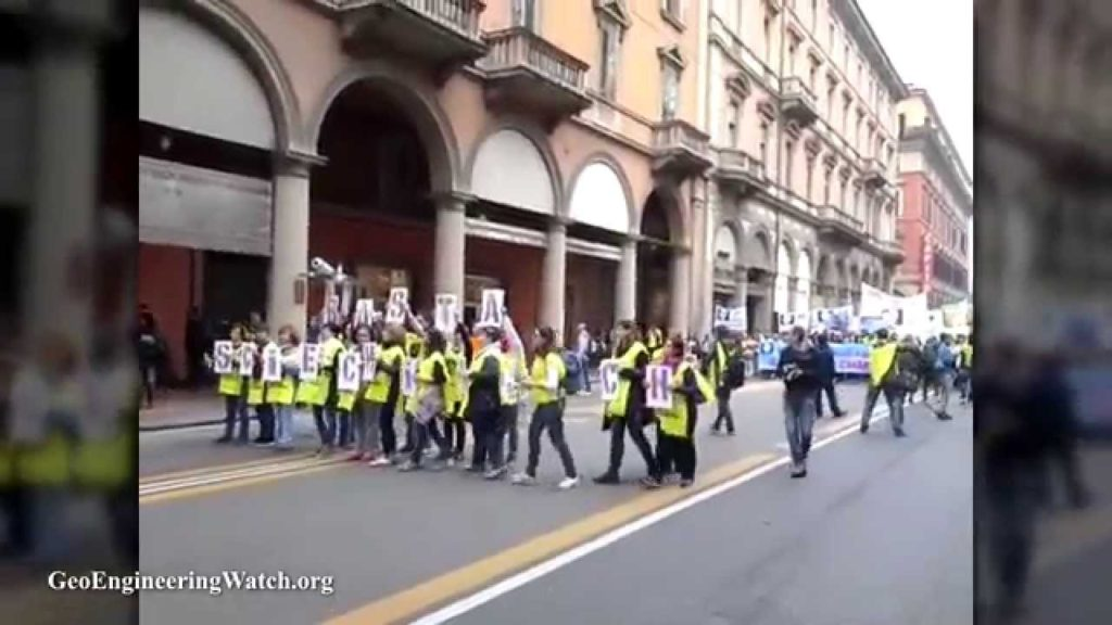 The Awakening Grows, Italians Stage Impressive Anti-Geoengineering Protest