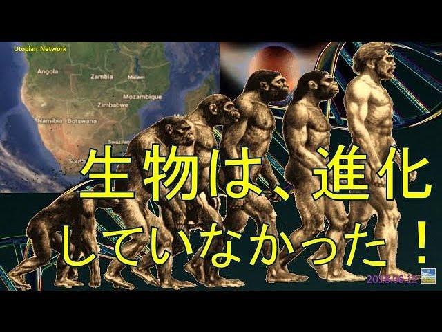 生物は、進化していなかった! (2018.06.12)
