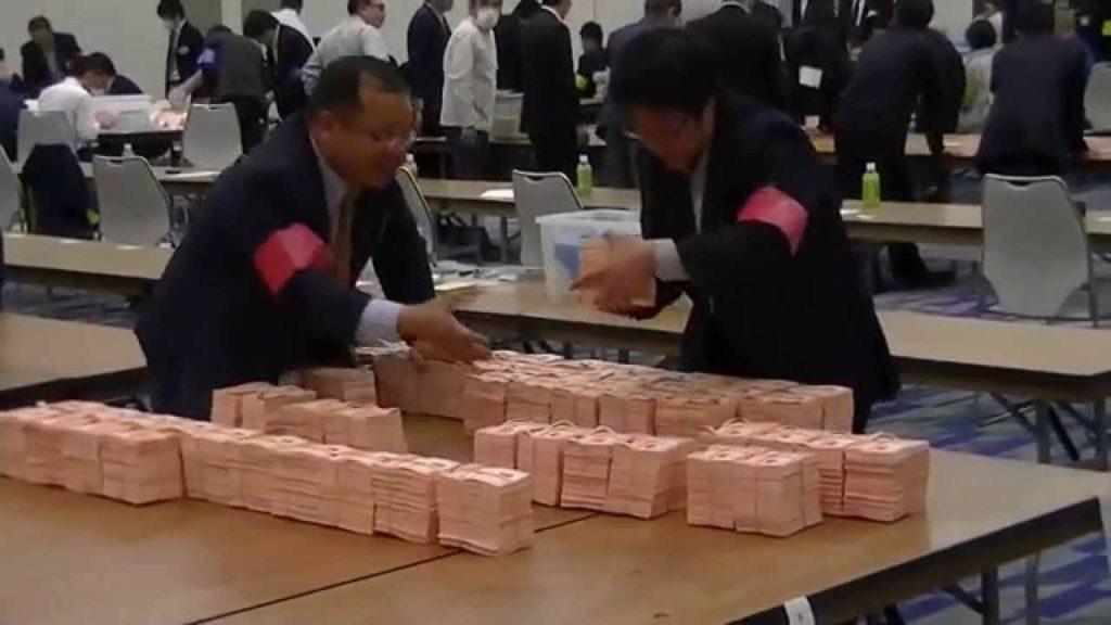 このどこかに不正選挙を行った奴がいる?増えた投票用紙の怪!開票開始 2015年徳島県議会選挙