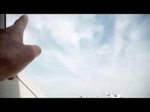 飛行機から撮影されたケムトレイル雲!2018.8.31