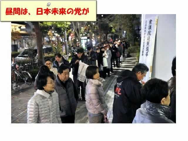 2012年衆議院選挙 不正選挙不正開票の実態3/4