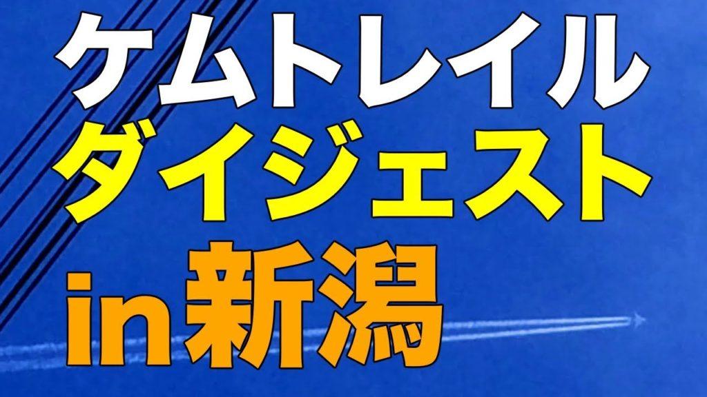 ケムトレイル、ダイジェスト in新潟 撮影日:2018.11.08/13/16(chemtrail)
