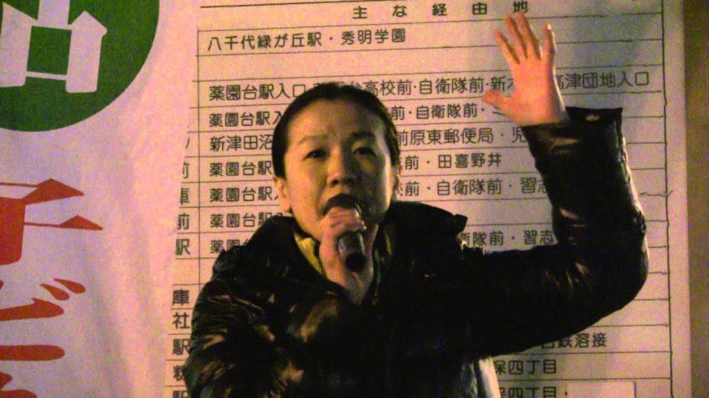 不正選挙の標的 日本未来の党 三宅雪子 谷亮子 大下英治 津田沼1