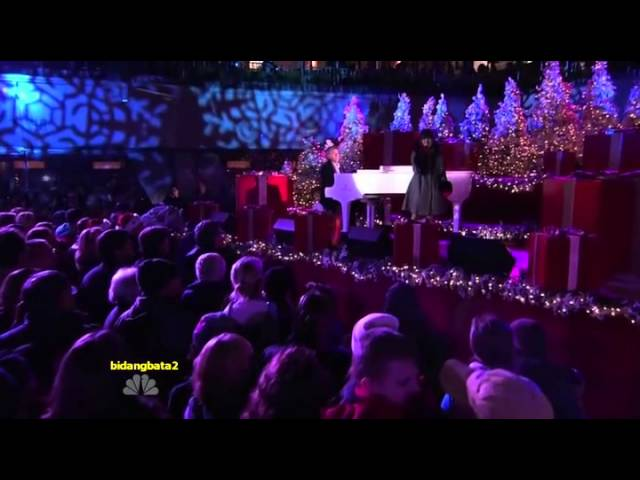 Charice & David Foster – My Grown Up Christmas List_Live at Rockefeller Center_JPsub_日本語字幕
