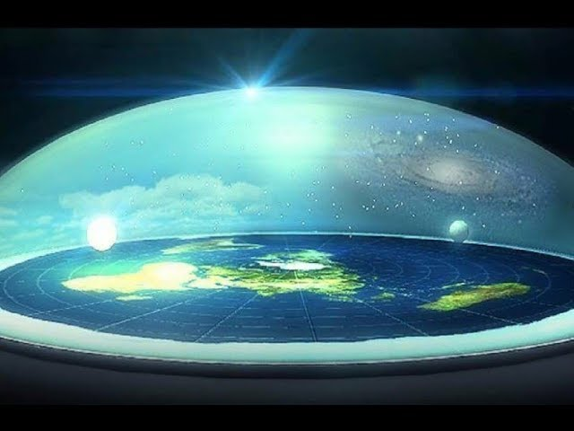 地球は平らだ!驚く陰謀論!