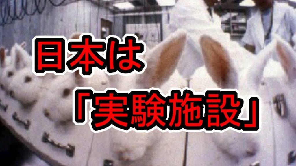 【都市伝説】日本は実験施設【陰謀論】