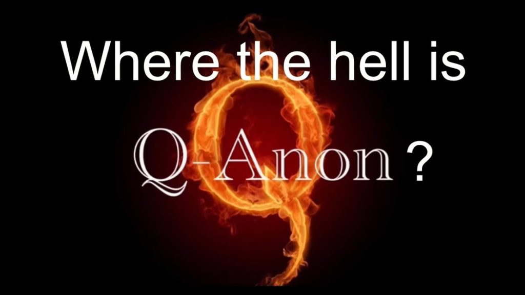 Where the hell is Q Anon?