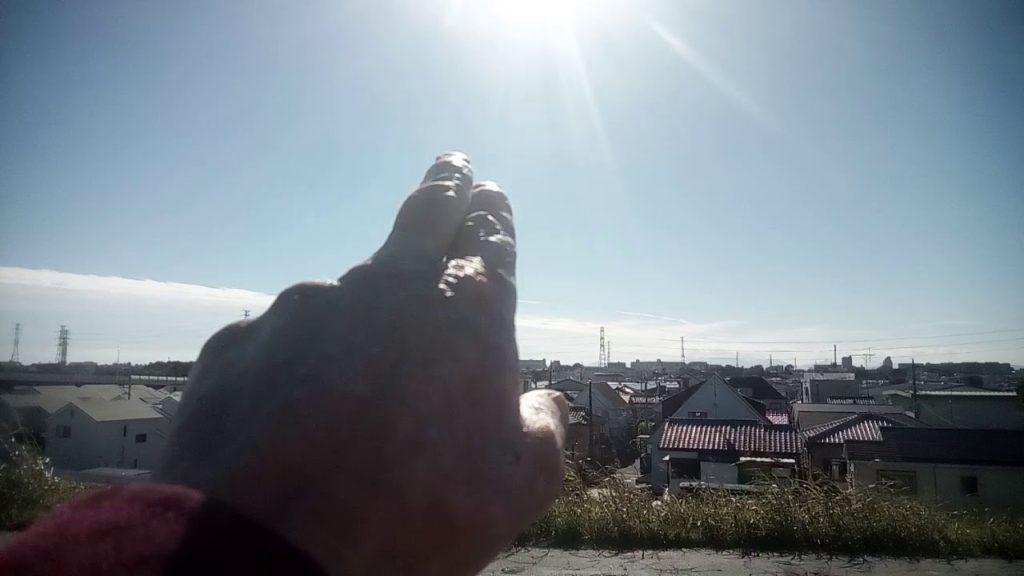 午後は東京湾上空のケムトレイル雲に向かって北風が吹き込みましたー!2018.11.1