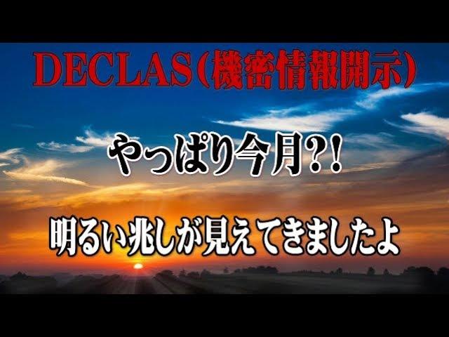 【樹林】Qアノン DECLAS(機密情報開示)は、やっぱり今月?!