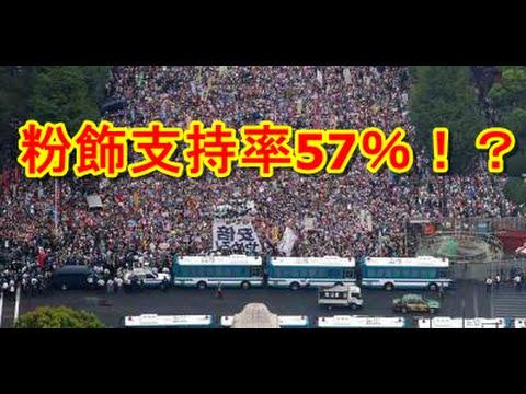 安倍晋三不正選挙偽内閣の支持率を反日朝鮮右翼産経新聞が盛りに盛って粉飾し57%弱!? リチャード・コシミズ氏