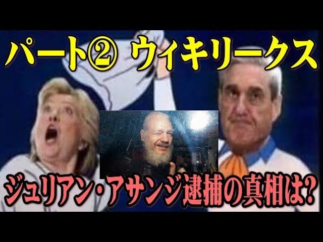 【樹林】Qアノン(パート②)ウィキリークス ジュリアン・アサンジ逮捕の真相は?