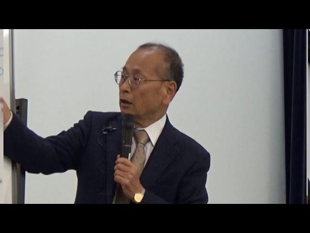 講演会「北朝鮮情勢を考える」 講師:孫崎享さん