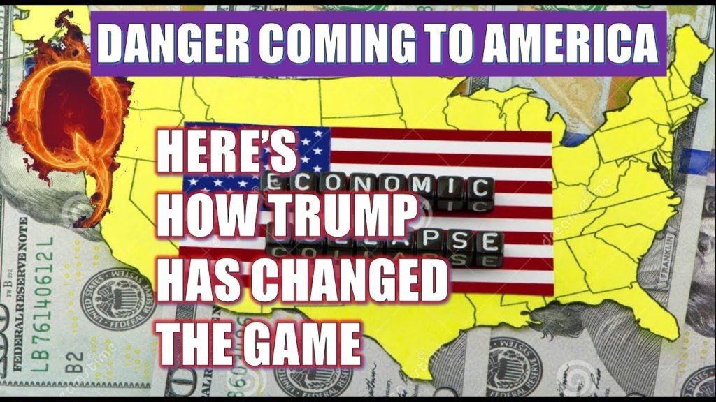 (Q Anon) Red ALERT🔴 Danger Coming To America -Here's How Trump Has Changed the Game