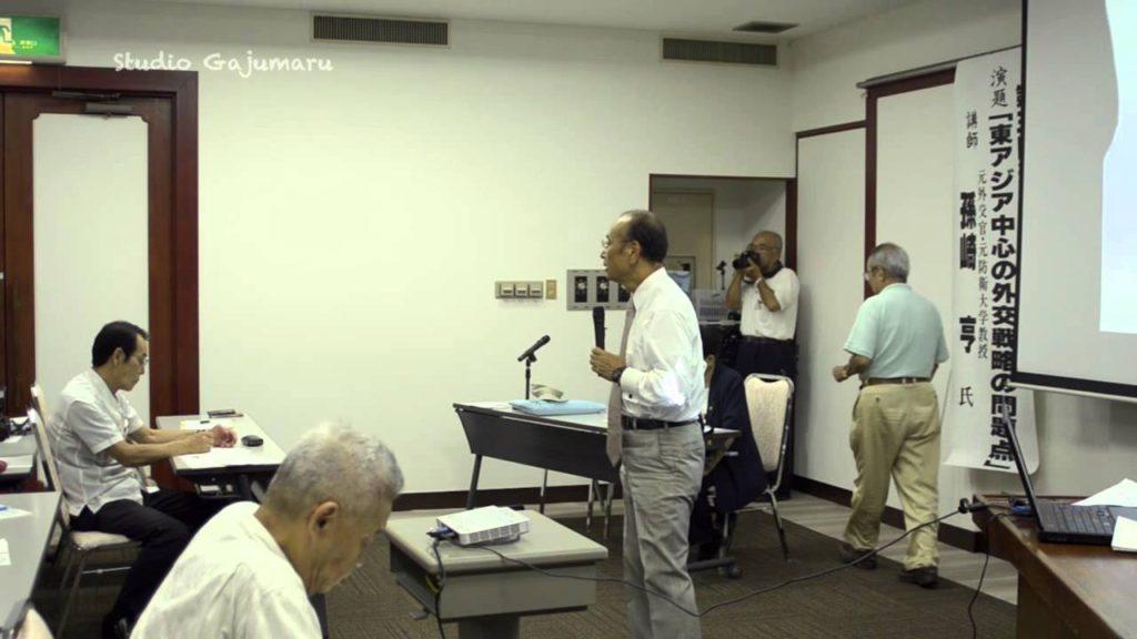 孫崎享「東アジア」講演1-原発事故以降の日本