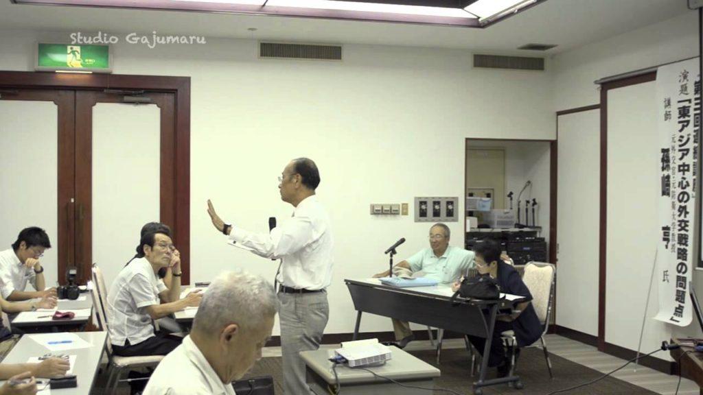 孫崎享「東アジア」講演3-尖閣