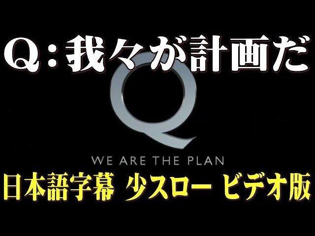 Q:我々が計画だ ビデオ版 日本語字幕 少スロー