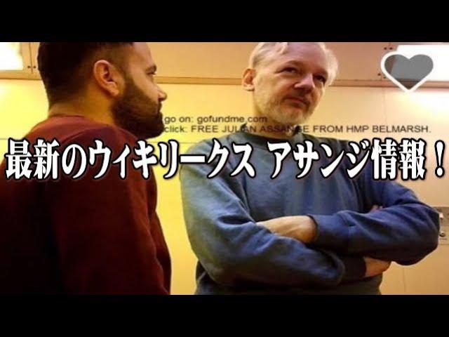 【樹林】Qアノン 最新のウィキリークス アサンジ情報!