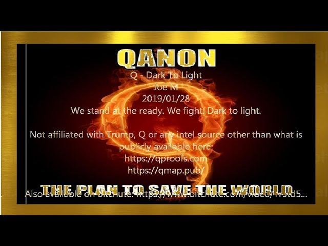 Qanon 2019-01 Dark To Light〈Japanese〉