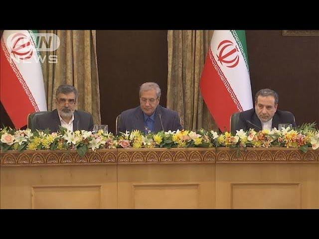 「イランは気をつけろ」ウラン濃縮度引き上げ発表で(19/07/08)