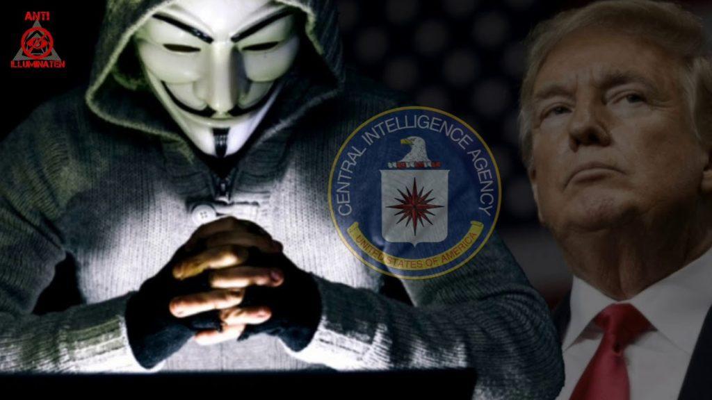 Anonymous vs Q-Anon