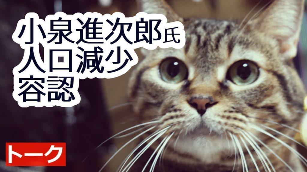 小泉進次郎氏が日本人の人口削減を容認している件【マツコ・デラックスの小泉進次郎大嫌い発言も】